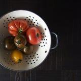 Vari pomodori Fotografia Stock