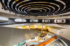 Vari progetti, concetti ed automobili sportive di Mercedes-Benz Fotografia Stock