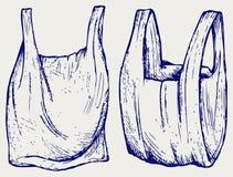 Vari sacchetti di plastica royalty illustrazione gratis