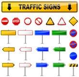 Vari segnali stradali Fotografie Stock