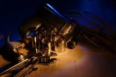 Vari strumenti Fotografie Stock Libere da Diritti