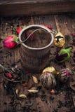 Vari tipi di tè Fotografia Stock Libera da Diritti