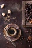 Variação de feijões de café fotos de stock