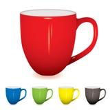 Variação do copo de café Imagens de Stock Royalty Free