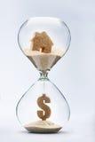 Variação do preço no mercado imobiliário Imagens de Stock Royalty Free