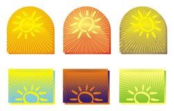 Variação do verão Foto de Stock