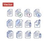 Variações da gestão de arquivo Imagens de Stock Royalty Free