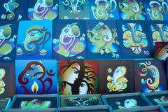 Variações de Lord Ganesha imagens de stock royalty free