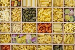 Variações do macarronete Fotografia de Stock