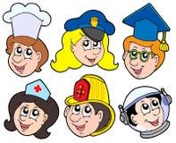 Varia accumulazione 1 di occupazione royalty illustrazione gratis