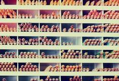 Varia matita in negozio Fotografia Stock
