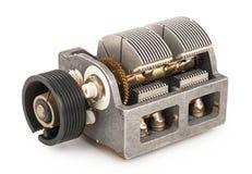 Variabel kondensator arkivfoton