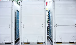 Variable frequency air conditioning Royalty Free Stock Photos