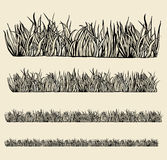 Variable grass modules. Stock Photos