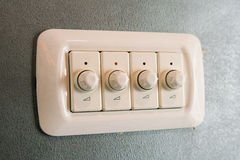 Variable light switch Royalty Free Stock Photo