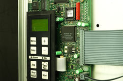 Variable speed drive inverter converter, unit for voltage stabilization Royalty Free Stock Photo