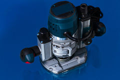 Variable speed plunge router Stock Photography