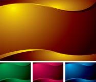 Variación de la onda Imagenes de archivo