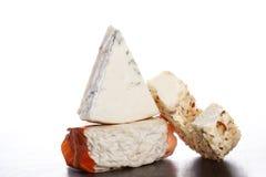Variación lujosa del queso. Fotos de archivo libres de regalías