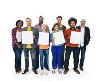 Variación étnica Team Unity Concept de la pertenencia étnica de la diversidad diversa Fotos de archivo libres de regalías