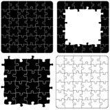 Variaciones del rompecabezas de rompecabezas imagenes de archivo