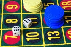 Variant 1 van het casino Royalty-vrije Stock Afbeelding