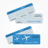 Variant of air ticket. Vector illustration Royalty Free Stock Image