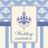 Variant of design of your wedding card. Royalty Free Stock Photos