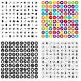 variant för vektor för 100 symboler för laglig avdelning fastställd vektor illustrationer