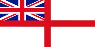 Variant Flag of the United Kingdom of Great Britain and Northern. Ireland 3D illustration Stock Images