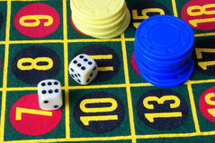 Variante 1 de casino Image libre de droits