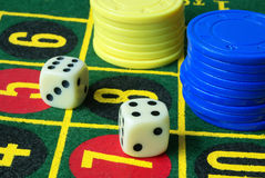 Variante 3 de casino Images libres de droits