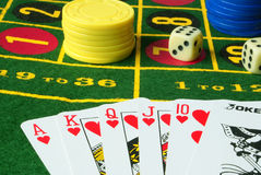 Variante 4 de casino Image stock