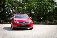 Variante 2012 de Volkswagen Golf Imágenes de archivo libres de regalías