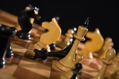 variantes de composition d'échecs Photos libres de droits