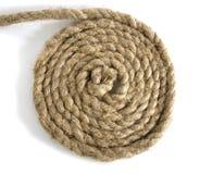 variantes de corde de noeud blanches Images libres de droits