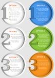 Variants för designmall itu Royaltyfri Bild