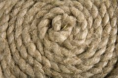 Variants of the rope with node on white Stock Photo