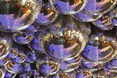 Varias bolas de discoteca Imágenes de archivo libres de regalías