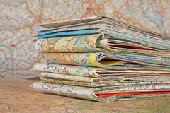 Varias correspondencias del recorrido Fotografía de archivo libre de regalías