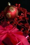Varias decoraciones de la Navidad Imágenes de archivo libres de regalías