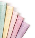 Varias diversas toallas Fotografía de archivo