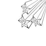 Varias estrellas Fotos de archivo
