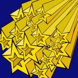 Varias estrellas Imágenes de archivo libres de regalías