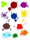 Varias faltas de definición coloridas ilustración del vector