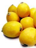 Varias frutas del loquat Imagen de archivo libre de regalías