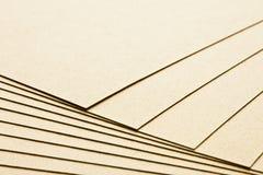 Varias hojas del papel Fotos de archivo libres de regalías