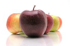 Varias manzanas Imagenes de archivo