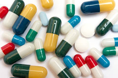 Varias píldoras Imagenes de archivo