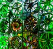Varias ruedas de la aleación Foto de archivo libre de regalías